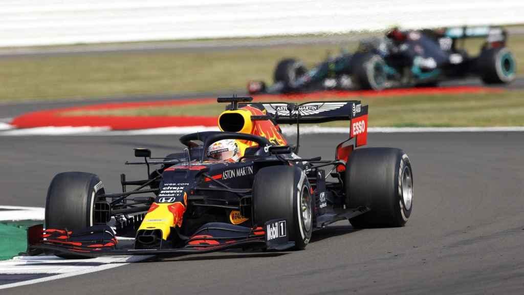 Verstappen durante el circuito 70 aniversario