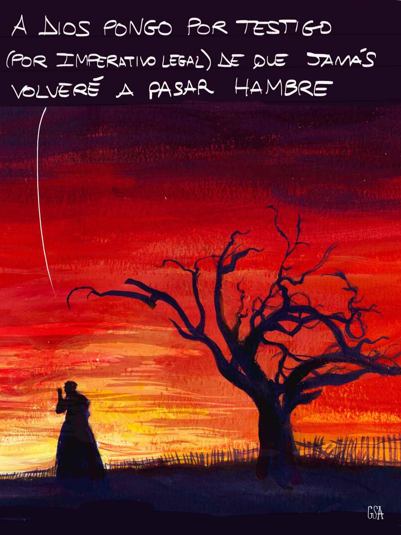 Lo que el viento se llevó, versión española