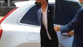 El presidente del Gobierno, Pedro Sánchez, con mascarilla.