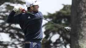 Jon Rahm, durante el PGA Championship en Harding Park, San Francisco