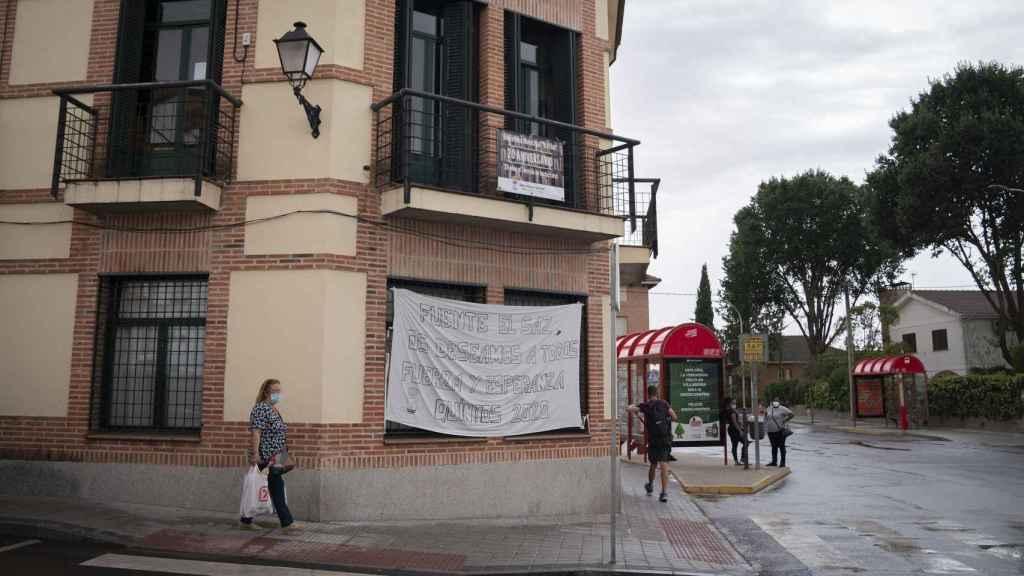 Mensaje de ánimo a los habitantes del municipio.