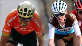 Greg Van Avermaet y Romain Bardet