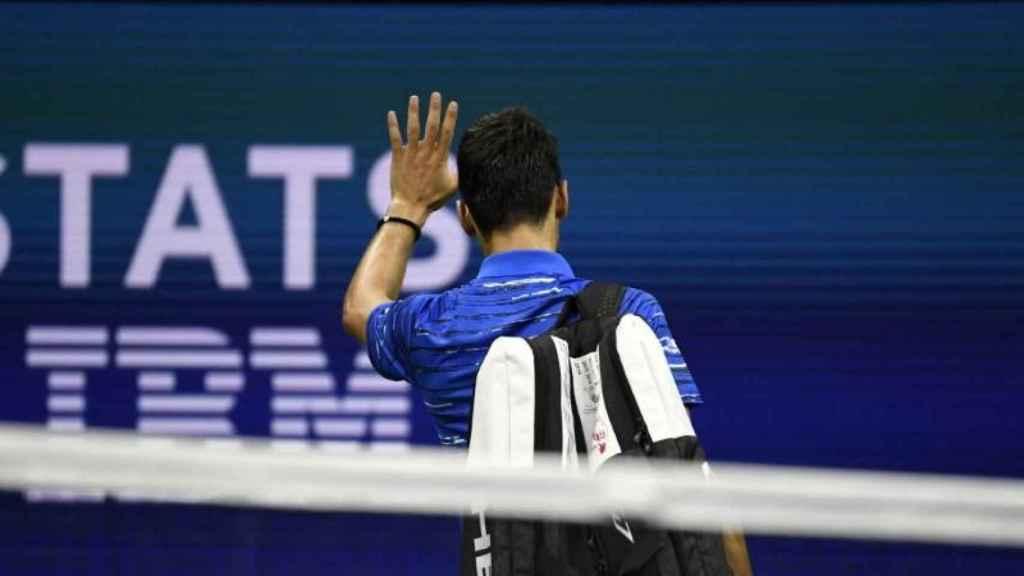 Dkojovic abandona el US Open