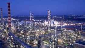 La planta petroquímica de Repsol en Puertollano (Cuenca), industria puntera en España