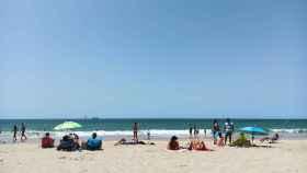Una playa de Cádiz