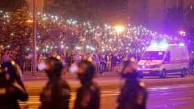 Las protestas en Bielorrusia tras las elecciones de este fin de semana.