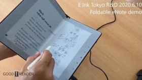 Una nueva pantalla de tinta electrónica nos permite escribir de manera natural