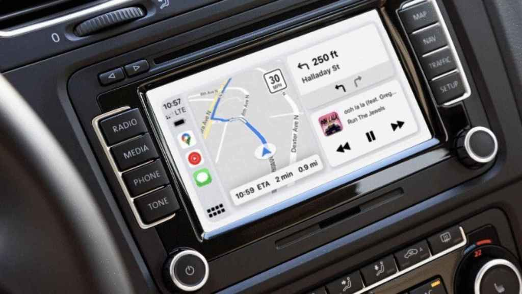 Google Maps para CarPlay