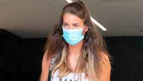 Marta López Álamo, a la salida del hospital.