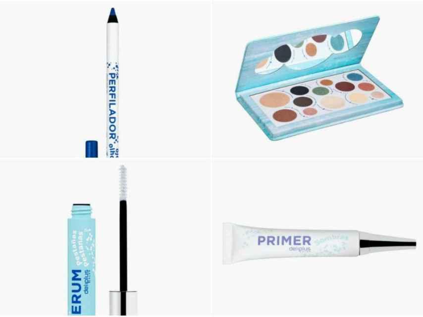Algunos de los productos de la colección 'Beauty Eyes' de Deliplus.