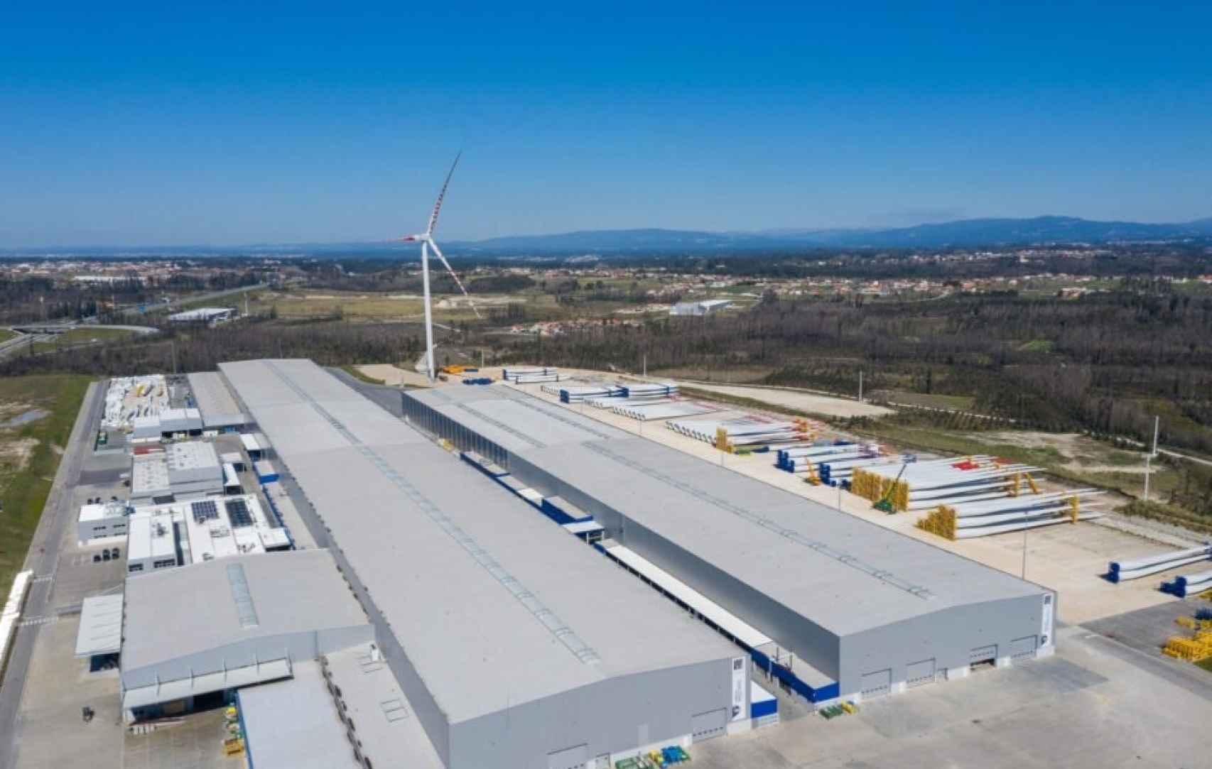 Planta de palas de Senvion en Vagos, Portugal, vendida a Siemens Gamesa