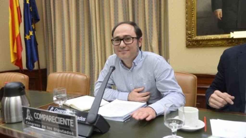 Daniel de Frutos, en una comparecencia en el Congreso.