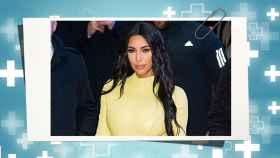 Kim Kardashian en un montaje de Jaleos.