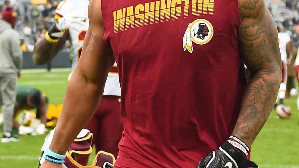 Derrius Guice jugador de los Redskins de la NFL