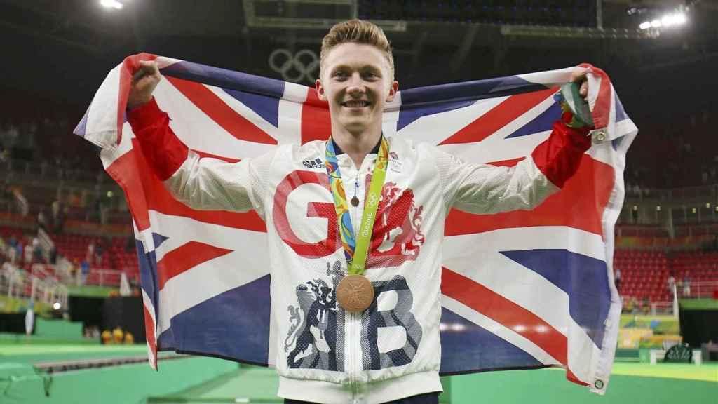 Nile Wilson, medallista olímpico en gimnasia en Río 2016
