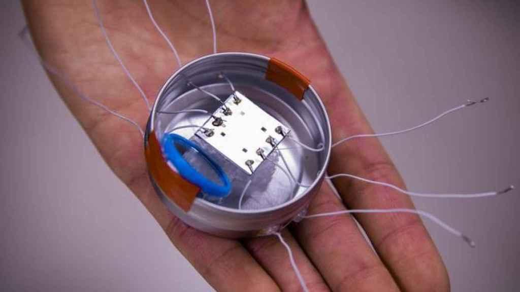 Microrobot desarrollado por los investigadores