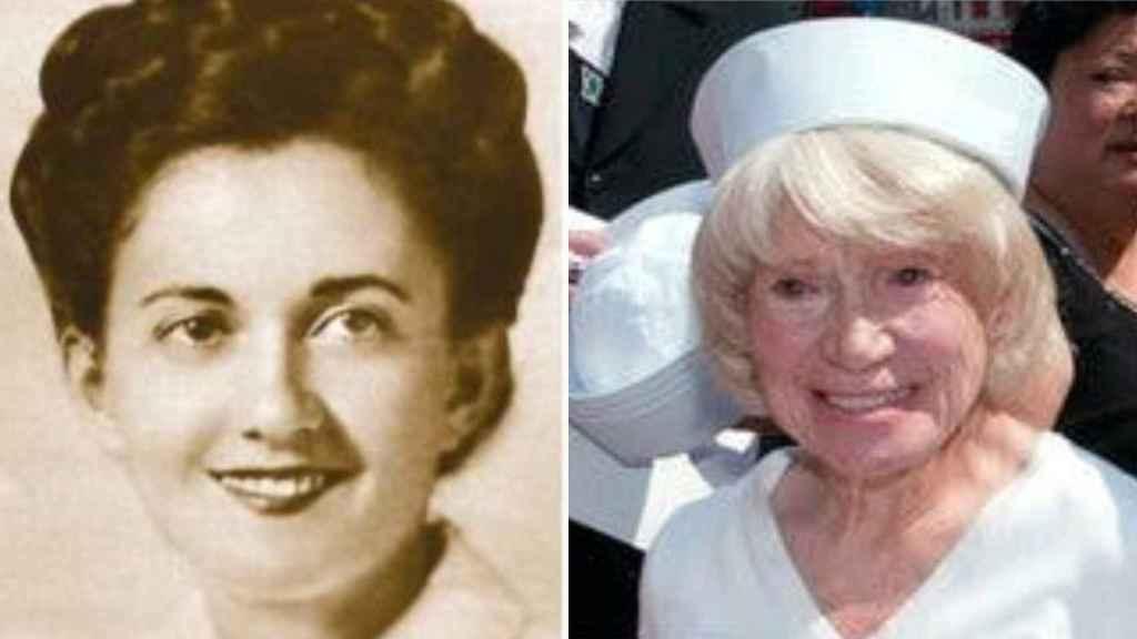 A la izquierda, Greta Friedman. A la derecha, Edith Shain.