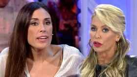 Isabel Rábago y Montse Suárez discuten en 'Ya es Mediodía'.