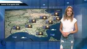 El tiempo este jueves 13 de agosto: tormentas y chubascos fuertes en el norte de la Península
