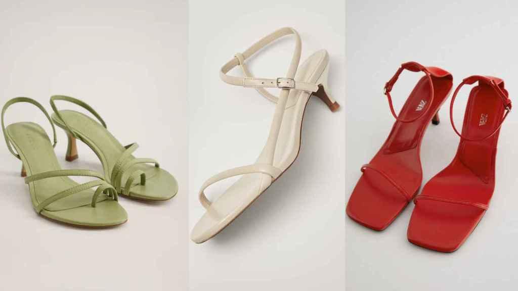 Cómodas y elegantes: así son las nuevas sandalias de tacón con las que no te dolerán los pies