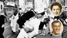 Mítico beso en Times Square.