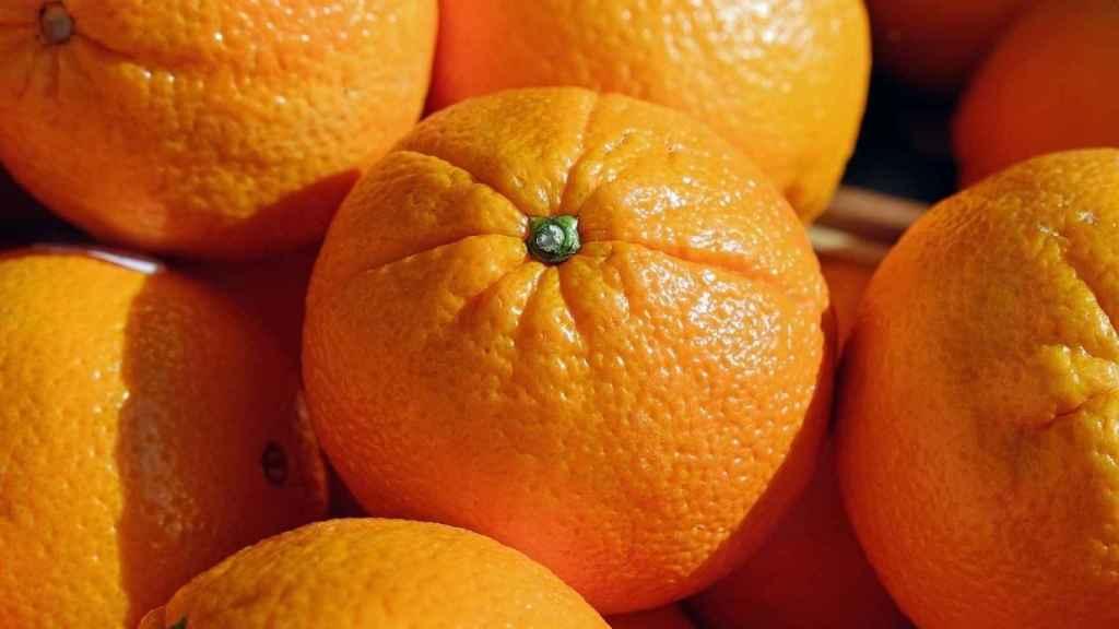 Unas naranjas.