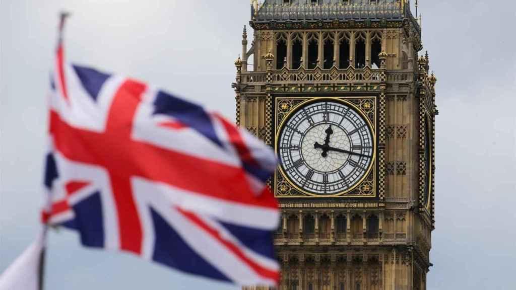 La bandera del Reino Unido.