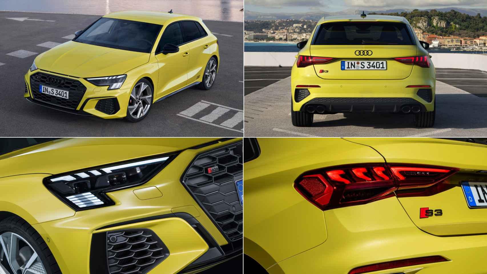 Audi S3 Sportback 2021: 310 CV y 53.900 euros de precio