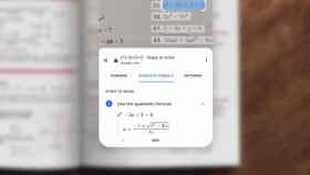 Google Lens es capaz de resolver ecuaciones sólo con una foto