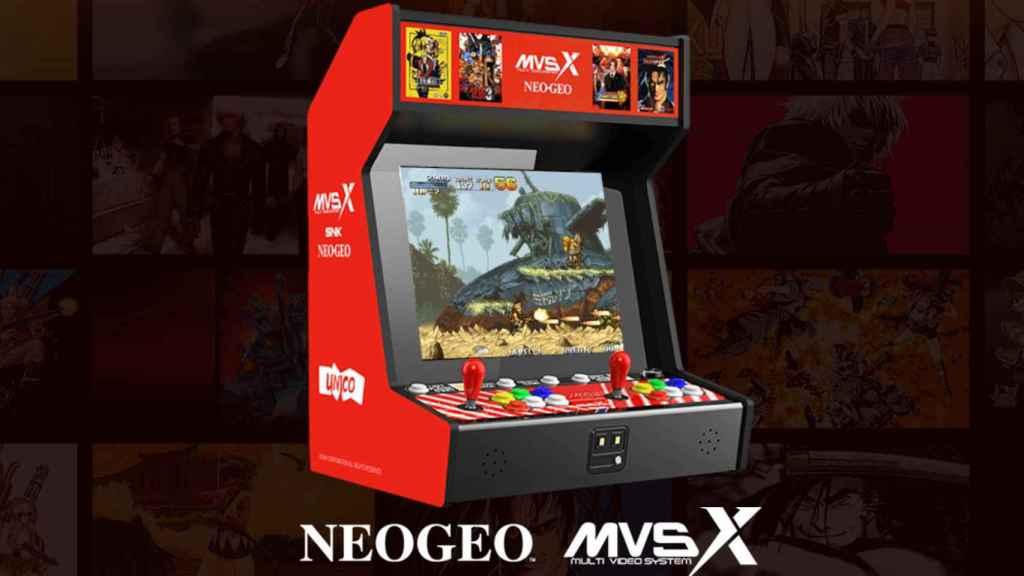 La nueva Neo Geo MVSX