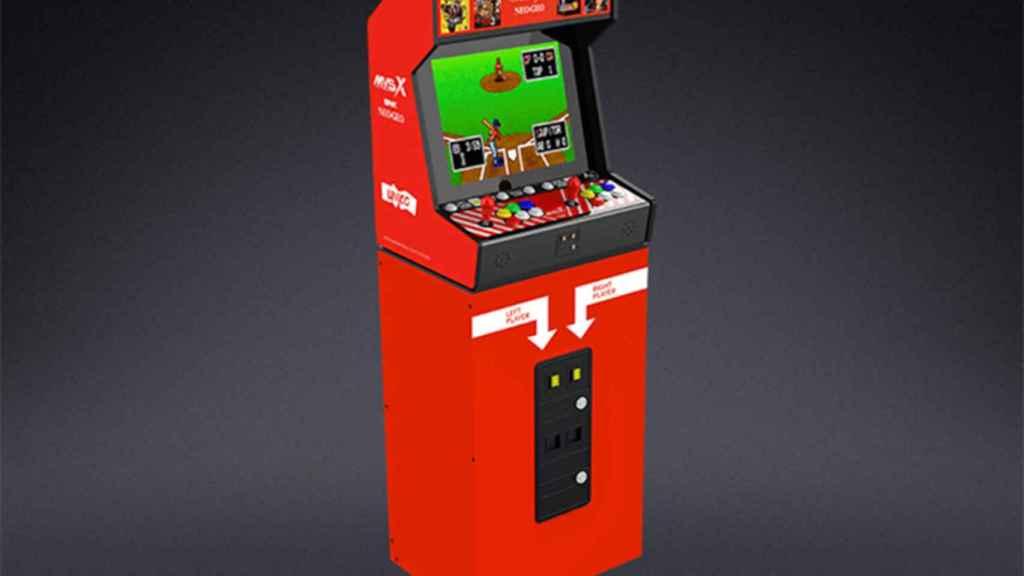 La nueva máquina arcade de Neo Geo incluye hasta una base como las originales
