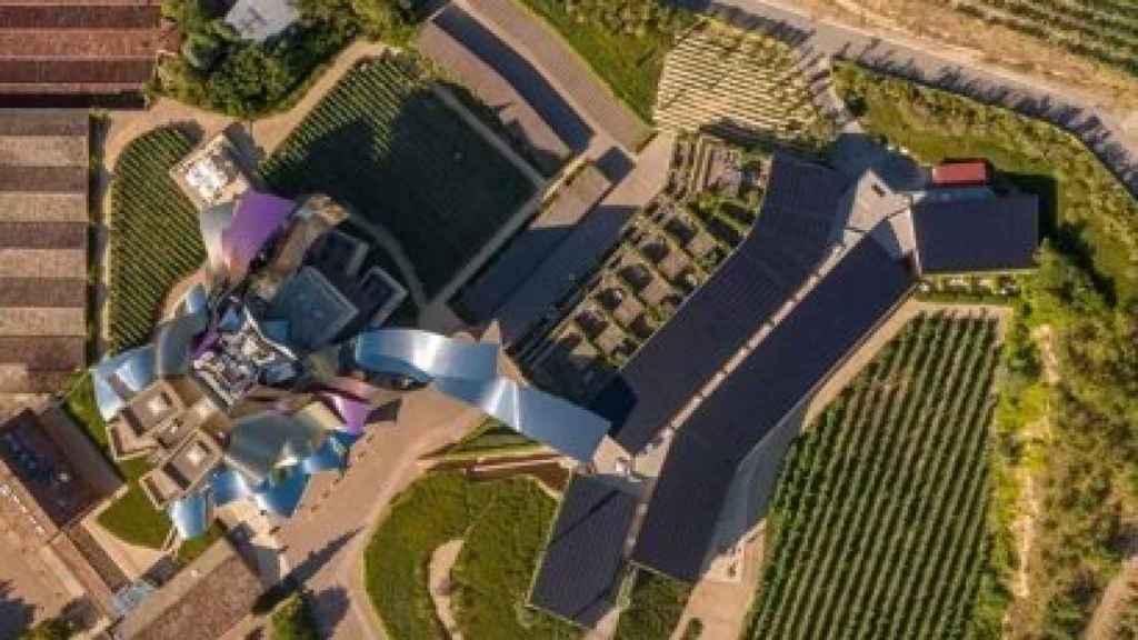 Foto aérea de la instalación de autoconsumo.