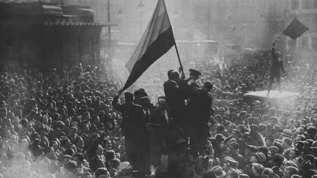 Proclamación de la II República Española, 14 de abril de 1931.