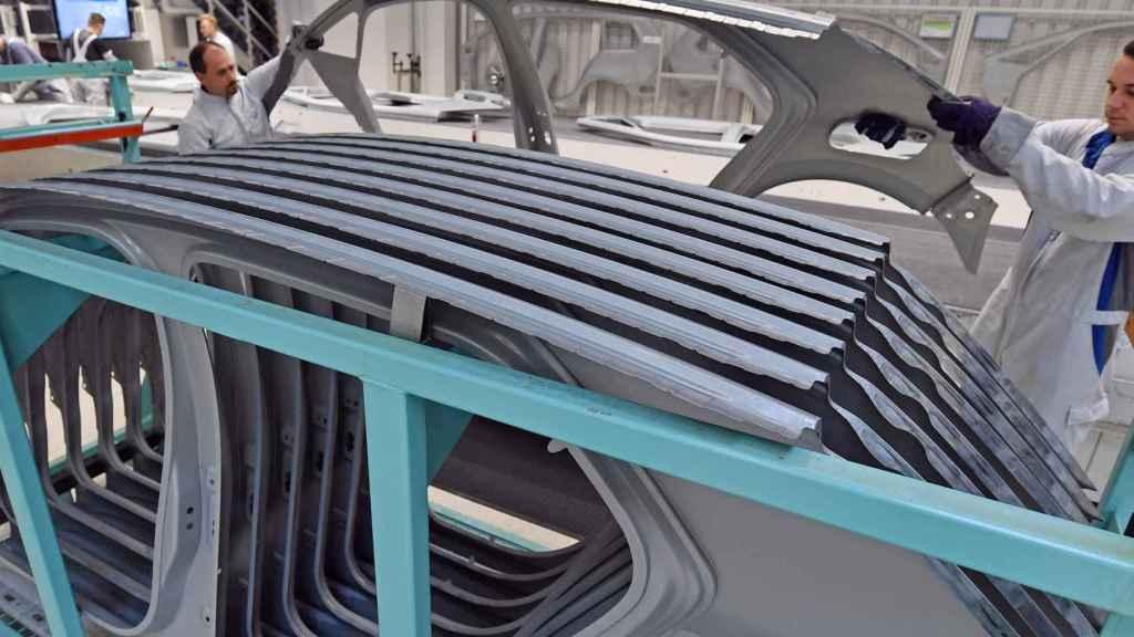 Así es la fabricación del nuevo eléctrico de Volkswagen.