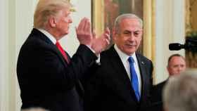 Trump y Netanyahu antes de que el presidente de EEUU anunciara el histórico acuerdo.