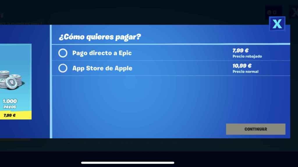 La polémica opción en Fortnite