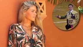 Ana Soria, en una imagen de Instagram y Enrique Ponce, durante una feria taurina en Fuengirola.