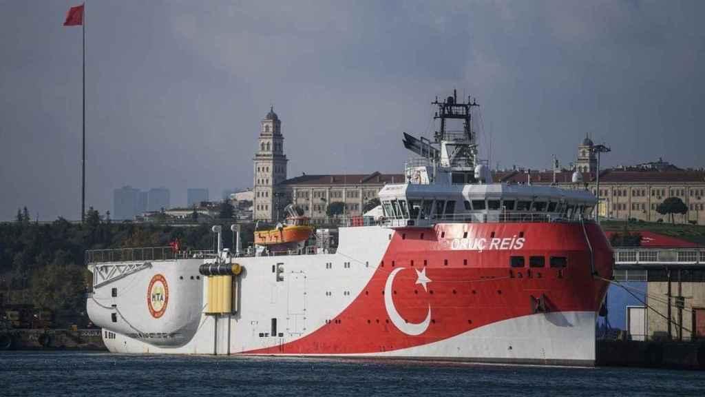 Barco de investigación y exploración Oruc Reis de Turkish Petroleum