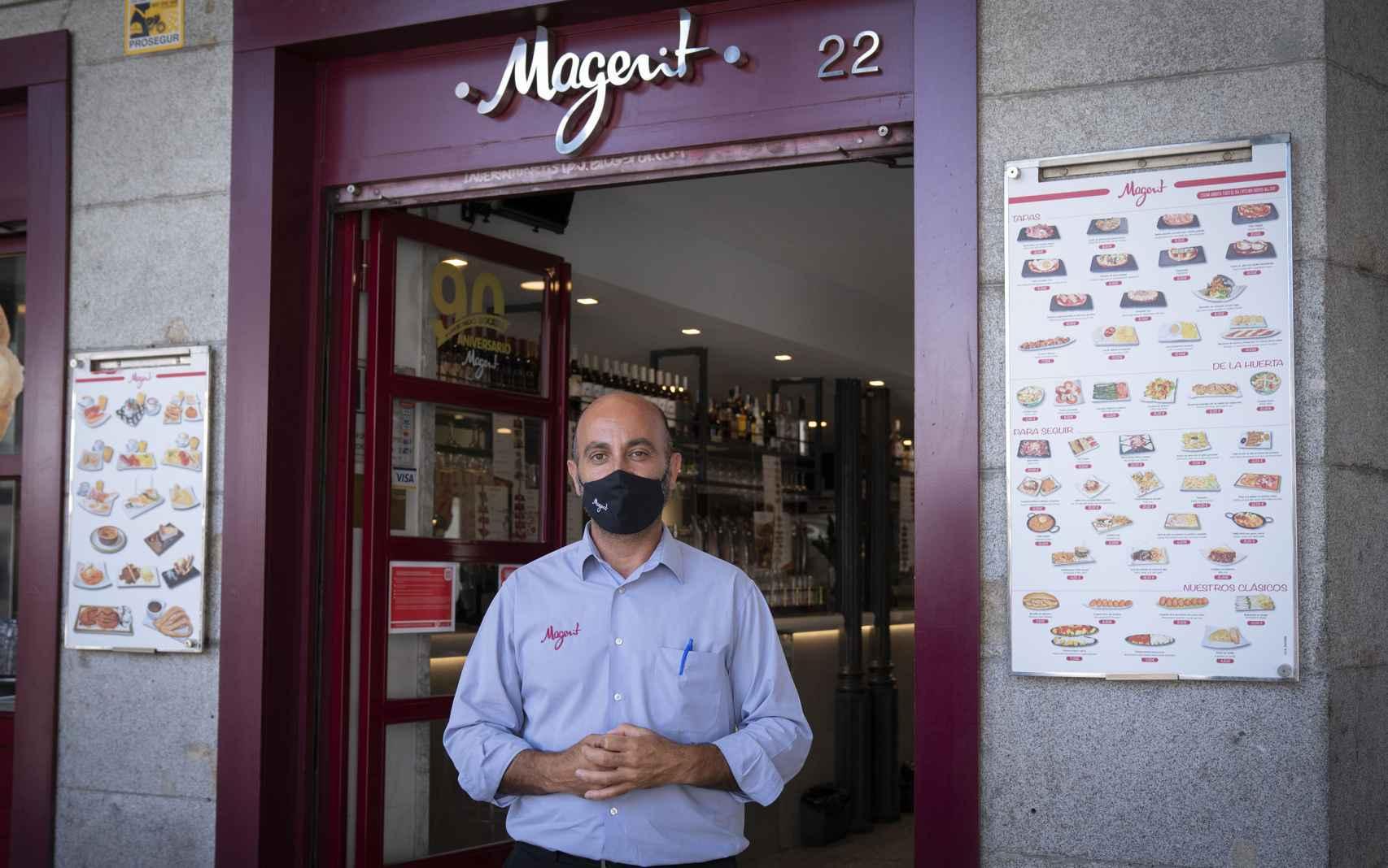 Fernando, el encargado de Magerit.