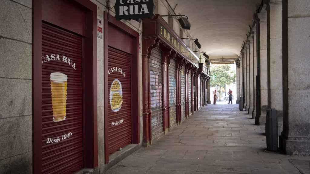 Casa Rúa está cerrado desde que se decretó el confinamiento.