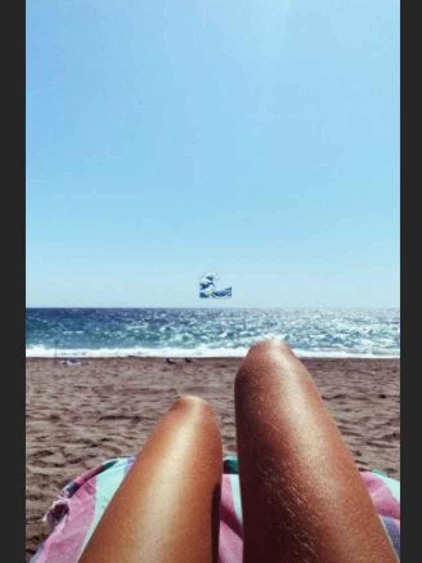 La imagen publicada por Ana Soria en sus 'stories' de Instagram.