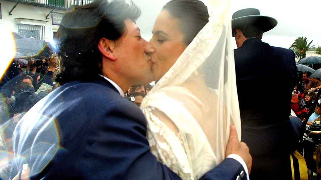 Ernesto Neyra y Lely Céspedes, el día de su boda.