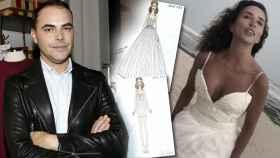 El diseñador Ion Fiz ha contado cómo realizó el vestido de novia de María Patiño.