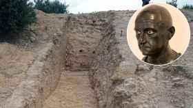 Restos arqueológicos de Iliturgi, ciudad íbera atacada por Escipión el Africano.