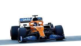 Carlos Sainz, en el Circuit Barcelona-Cataluña durante el Gran Premio de España de Fórmula 1 de 2020