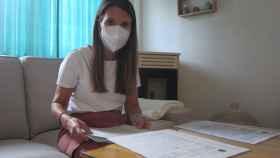 Teresa, un año después de perder a su bebé por listeria.