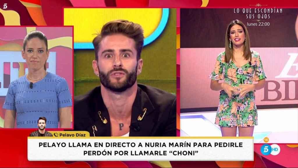 Pelayo Díaz ha intervenido por teléfono en 'Socialité'.