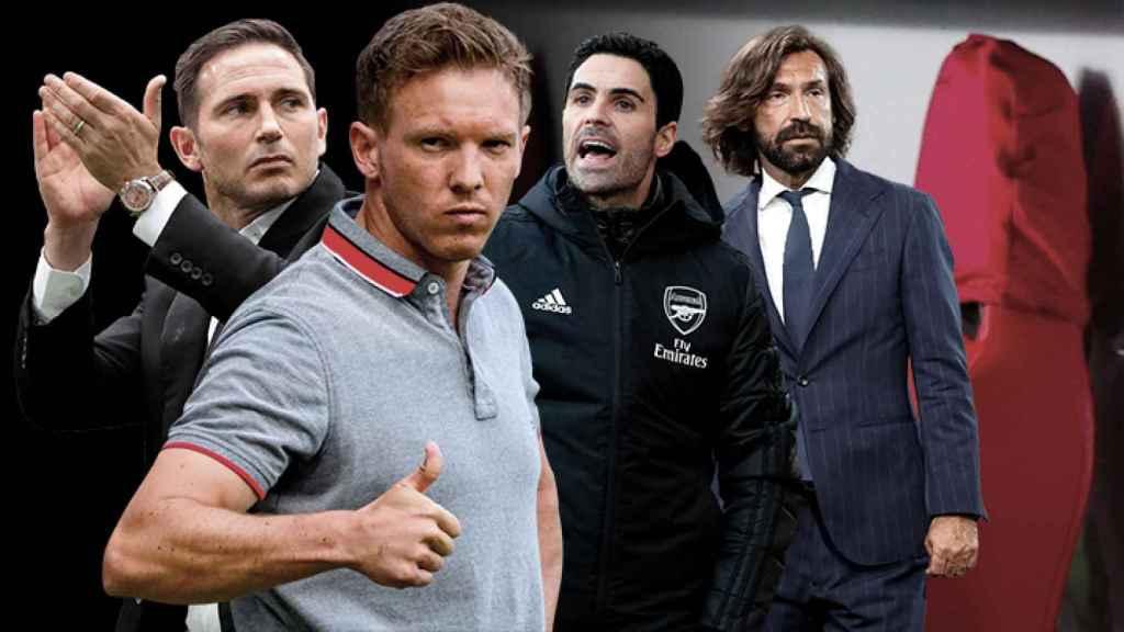 La revolución de los banquillos del fútbol europeo