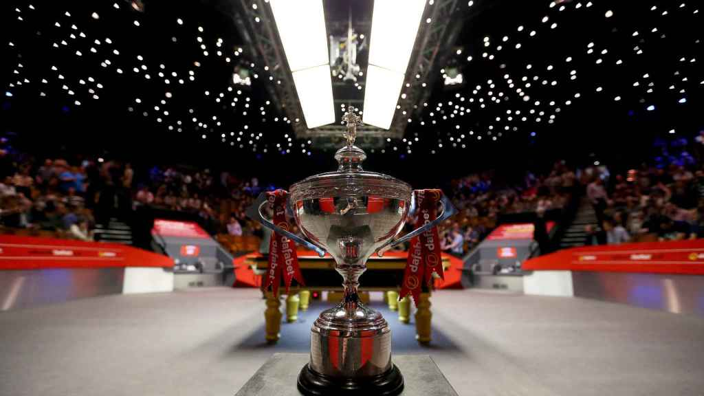 El título del Mundial de snooker con público en las gradas este fin de semana en el Reino Unido