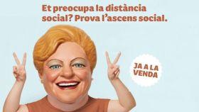 El anuncio publicado, y después retirado, de la Lotería de Cataluña